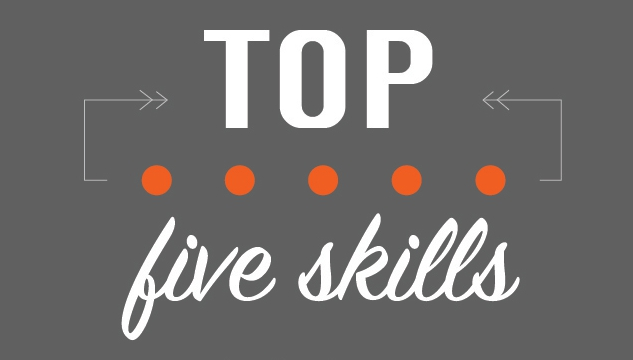Top five skills for Recruiters